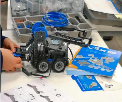 Vex Robotic Coding Club Norwich School